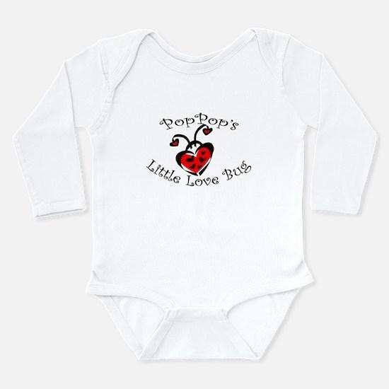 PopPop's Love Bug Ladybug Body Suit