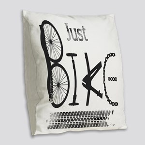 Just Bike Motivational Quote made from bicycle par