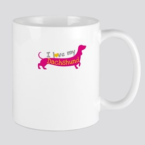 i love my dachshund Mugs