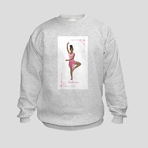 African American Ballerina Sweatshirt