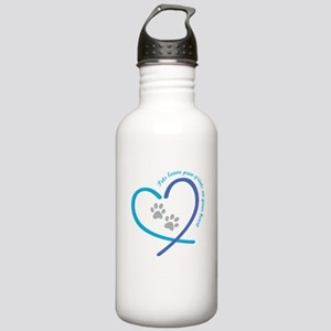 pets leave paw prints Stainless Water Bottle 1.0L