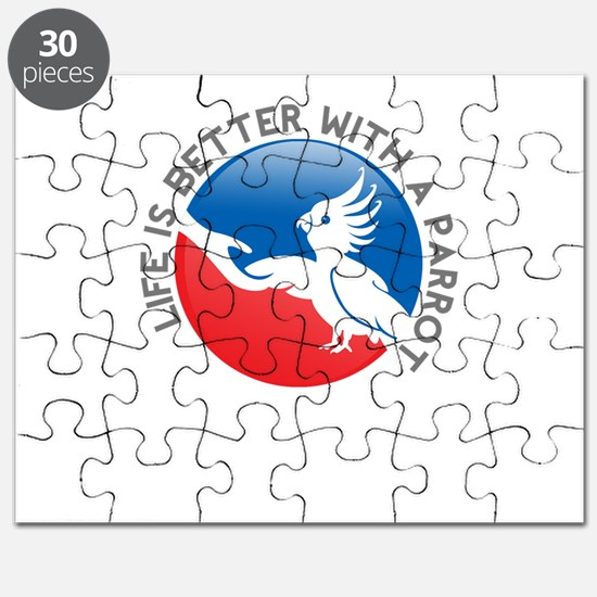 life is better with a parrot Puzzle