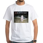 HELLRAISER I Survived White T-Shirt