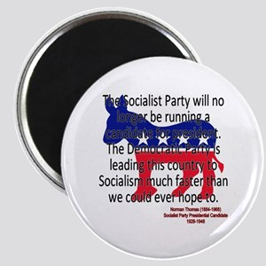 Thomas Democratic Socialism Magnets