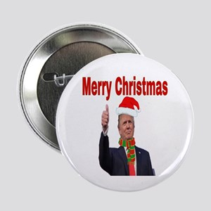 """Merry Christmas 2.25"""" Button (10 pack)"""