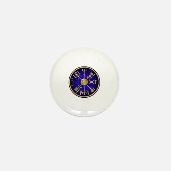 Viking compass Mini Button