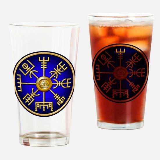 Viking compass Drinking Glass