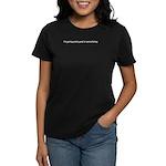 Good At Masturbating Women's Dark T-Shirt