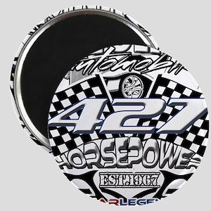 427 car badge Magnets