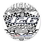 426 car badge Round Car Magnet