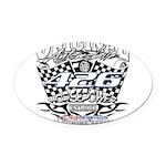 426 car badge Oval Car Magnet