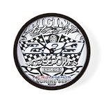 289 car badge Wall Clock