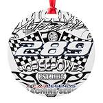 289 car badge Round Ornament