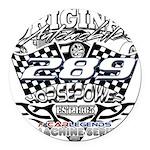 289 car badge Round Car Magnet