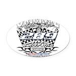 289 car badge Oval Car Magnet