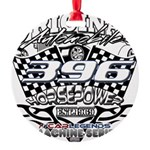 396 car badge Round Ornament