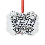 396 car badge Picture Ornament