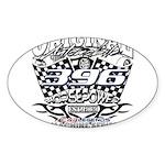 396 car badge Sticker