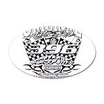 396 car badge Decal Wall Sticker
