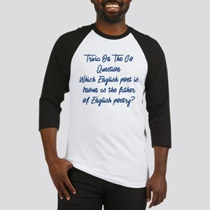 Father of English Poetry Baseball Jersey