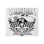 Original Automobile Machines Throw Blanket