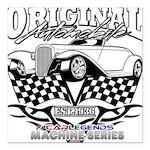 Original Automobile Machines Square Car Magnet 3