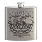 Original Automobile Machines Flask