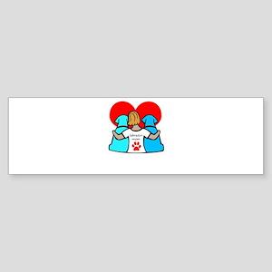 You are my best friend Bumper Sticker