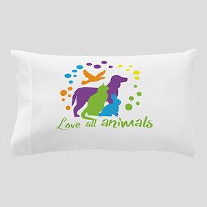 love all animals Pillow Case