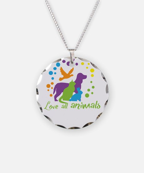 love all animals Necklace