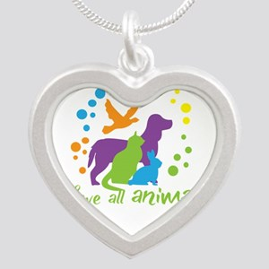 love all animals Necklaces