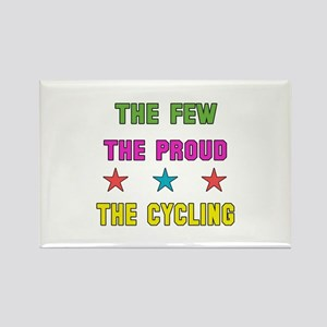 The Few, The Proud, The Cycling Rectangle Magnet