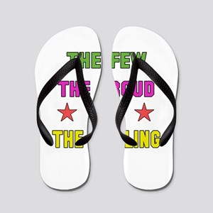 The Few, The Proud, The Curling Flip Flops