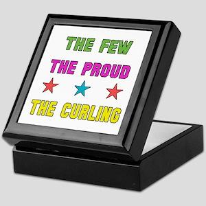 The Few, The Proud, The Curling Keepsake Box