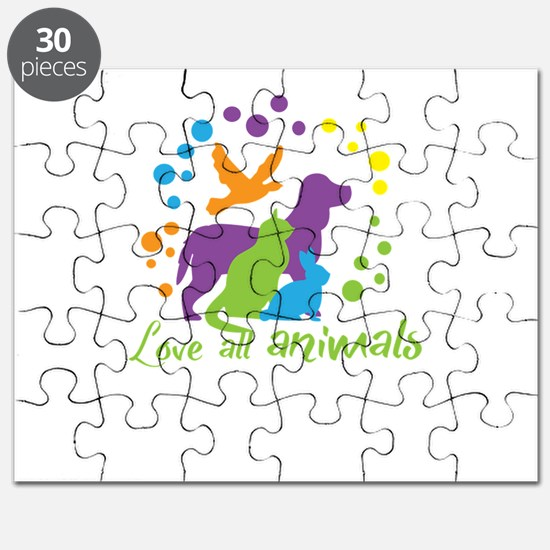 love all animals Puzzle