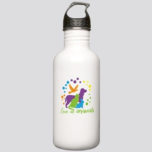 love all animals Stainless Water Bottle 1.0L