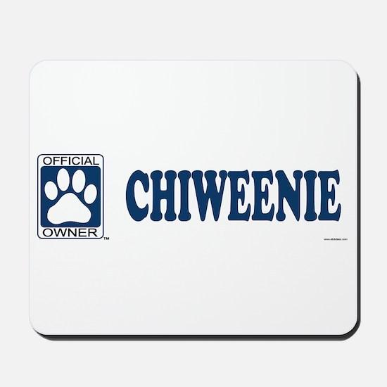 CHIWEENIE Mousepad