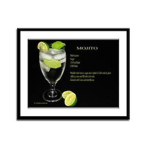 Mojito Framed Panel Print