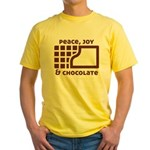 Peace, joy & chocolate T-Shirt