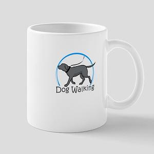 dog walking Mugs