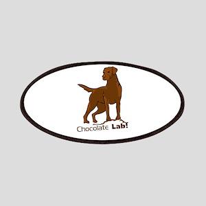 chocolate lab! Patch