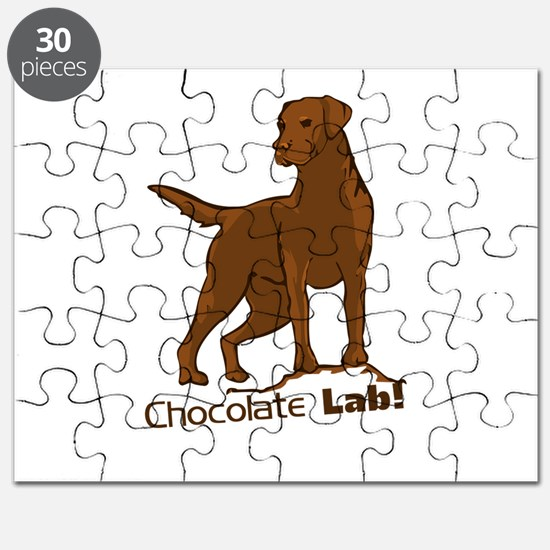 chocolate lab! Puzzle