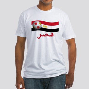 TEAM EGYPT ARABIC Fitted T-Shirt