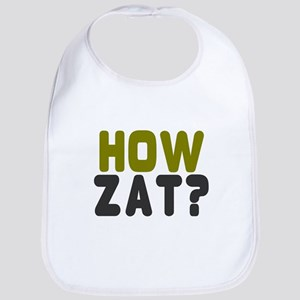 CRICKET - HOW ZAT - OUT!! Baby Bib
