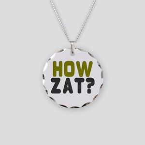 CRICKET - HOW ZAT - OUT!! Necklace Circle Charm