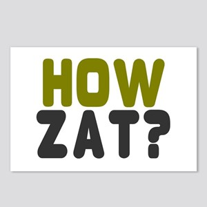 CRICKET - HOW ZAT - OUT!! Postcards (Package of 8)