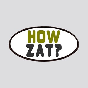 CRICKET - HOW ZAT - OUT!! Patch