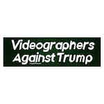 Videographers Against Trump Bumper Sticker