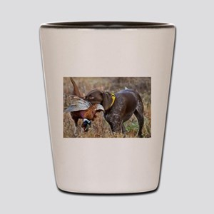 Bird Dog Shot Glass