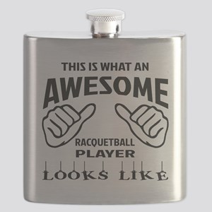 This is what an awesome Racquetball player Flask
